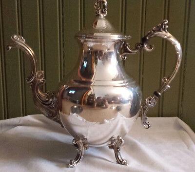 1960 (silverplate, Hollowware) Pattern By 1883 F B Rogers Coffee Pot
