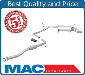 1990-1994 Mazda 323 Protege 1.8L Dual Outlet  Muffler Exhaust System