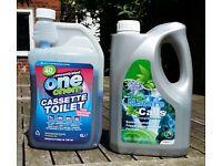 Caravan toilet chemicals