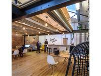 Hot desking in a clean creative space | Bristol