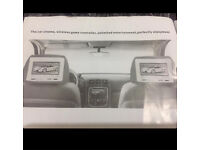 Headrests built in DVD, Video, Games & Music Entertainment player