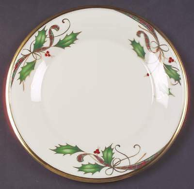 Lenox HOLIDAY NOUVEAU GOLD Accent Luncheon Plate 3821243