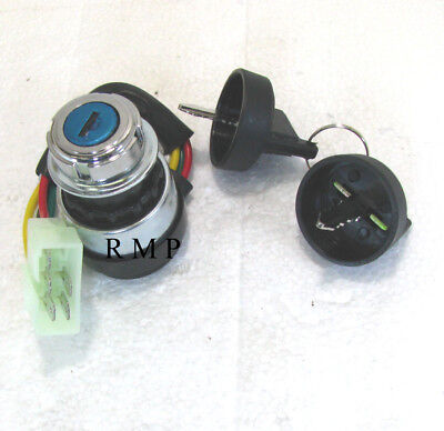 5 Wire Ignition Switch Key for Diesel Generator & ATV & Halley