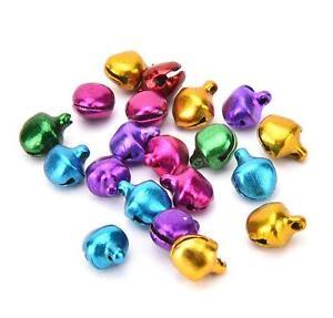 100Pcs-Colorful-Small-Jingle-Bells-Iron-Loose-Beads-Christmas-Decoration-Crafts