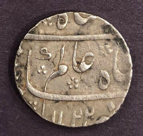 India - Mughal, Shah Alam Bahadur, Rupee, KM# 347, AH 1122, Year 4, XF, 11.57g