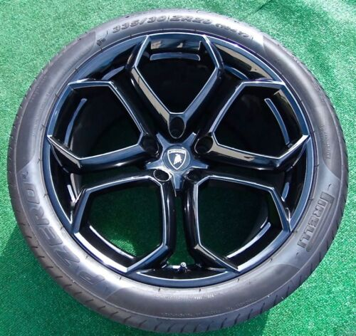 Best Original Genuine Oem Factory Lamborghini Aventador Lp700 Black Wheels Tires