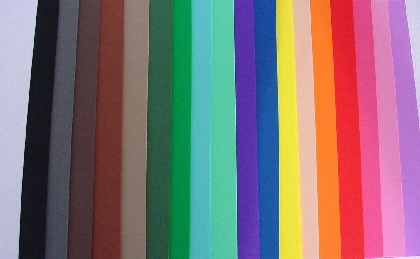 Moosgummiplatte 20 x 30 cm, 2 mm, Moosgummi 20 Farben zur Auswahl