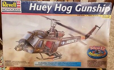 Revell Monogram Huey Hog Gunship 1/48 Scale for sale  Shipping to Canada