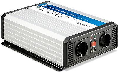 Stromumwandler Spannungs-Wandler 12V 1000 2000W Wechselrichter Inverter Cartrend