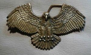 American  Eagle solid brass belt  buckle