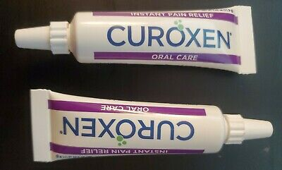 CuroXen Mouth Sore Treatment - All Natural Instant Pain Relief Oral Gel 0.42 oz