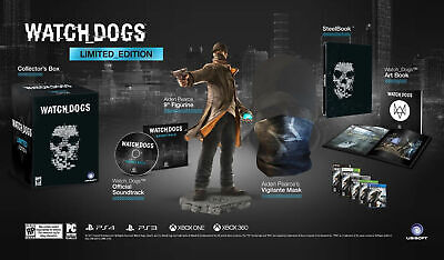 WATCH DOGS LIMITED COLLECTOR'S Edition for XBOX ONE for sale  Shipping to Nigeria
