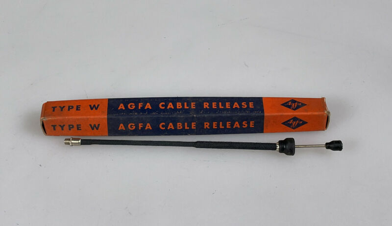 agfa cable release shutter cable NOS in the original box type W