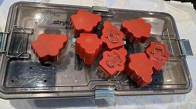 Stryker System 5 Set Sagittal Rotaryrecippincol Attachmentsaseptic Battery