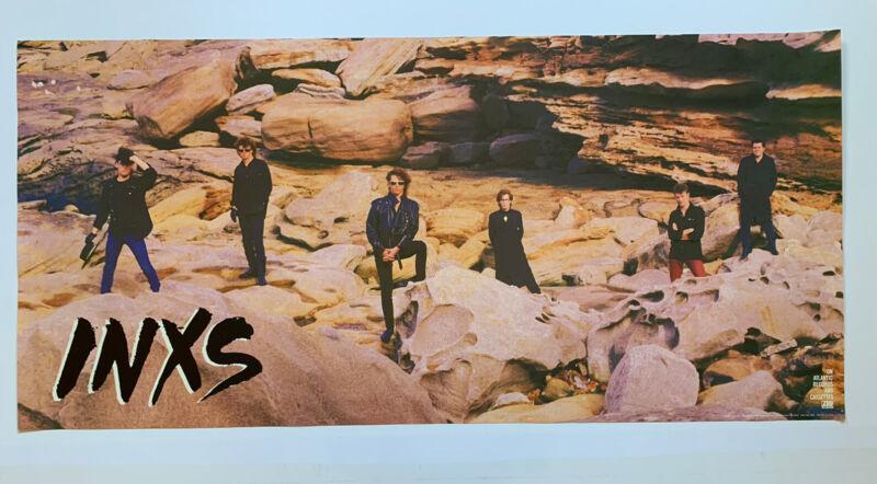 Original 1985 INXS Listen Like Thieves Promotional 80