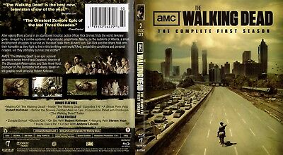 The Walking Dead Seasons 1   2 The Complete First   Second Season Dvd New
