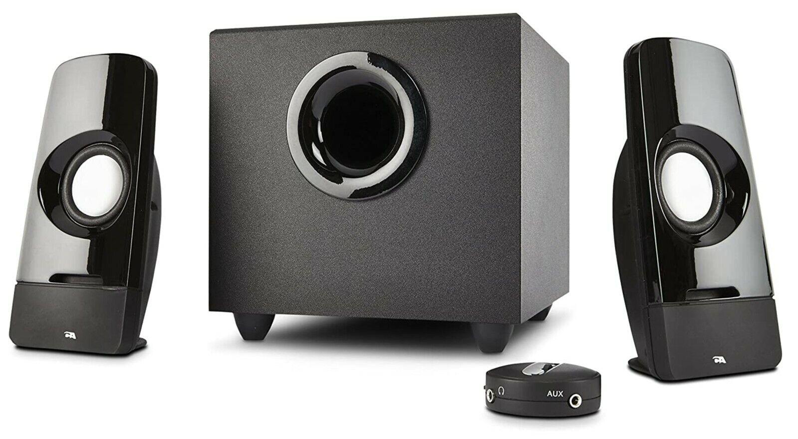 Cyber Acoustics Curve Blast 2.1 Speaker System - 8 W RMS - L
