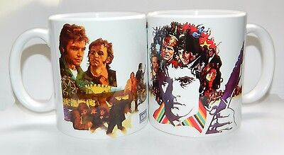 DAVID ESSEX  STARDUST/THAT'LL BE THE DAY  : Set of 2 11oz MOVIE COLLECTORS MUGS