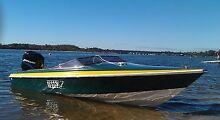 Haines Hunter 1600SO ski boat (16ft fibreglass,2002 mercury) swap Coolbellup Cockburn Area Preview