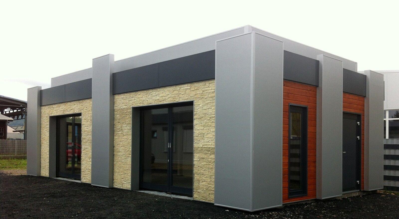 Isolierte Doppel-Garage/ Stahlhalle 66 m²  NEU!!