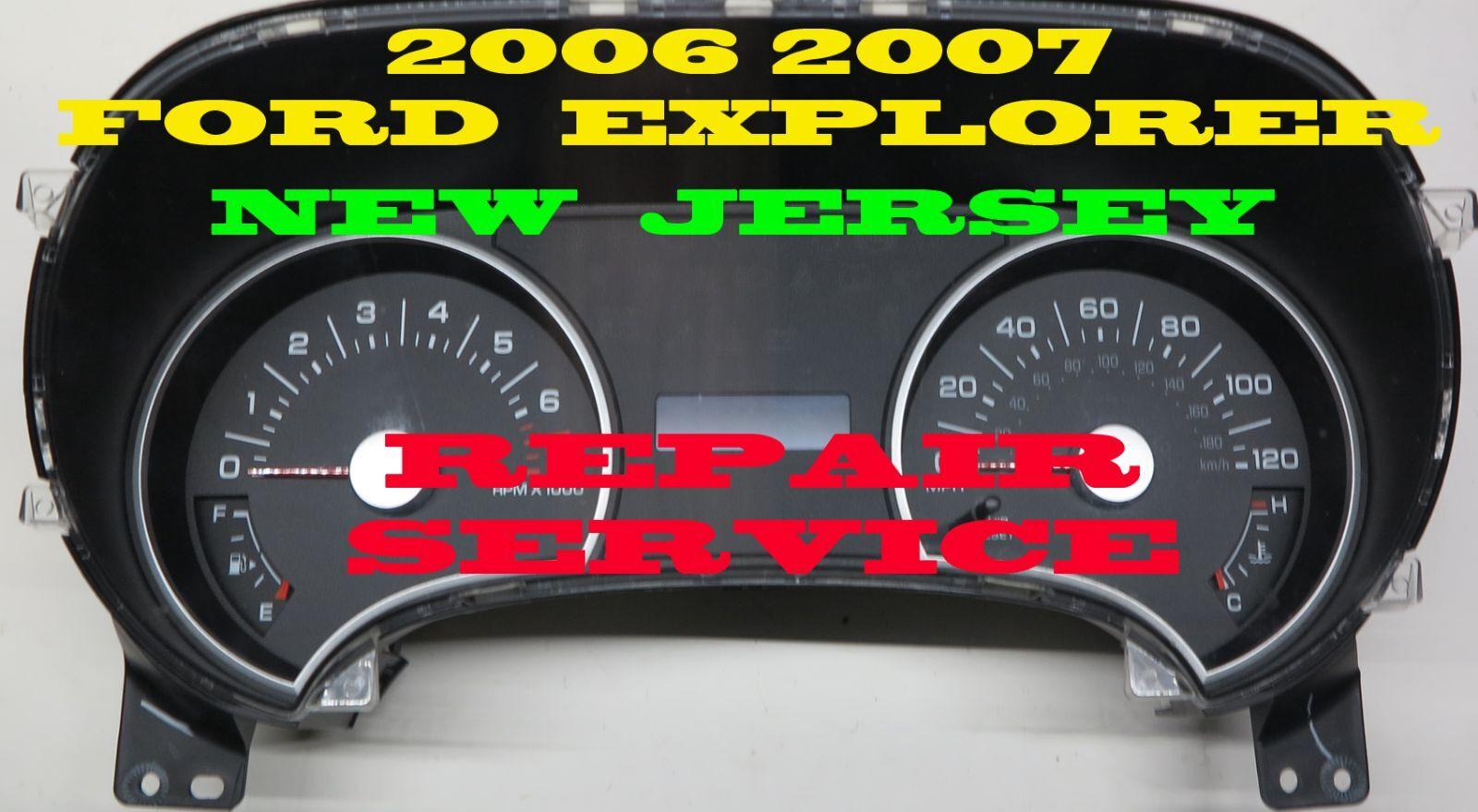 FITS 06 07 2006 2007 FORD EXPLORER CLUSTER INFO TRANSFER (MILEAGE ,VIN#, HOURS