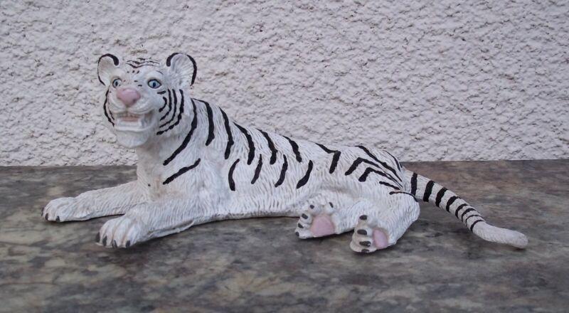 Vintage Siegfried And Roy White Tiger Figure Mirage Las Vegas Magic Animal Show