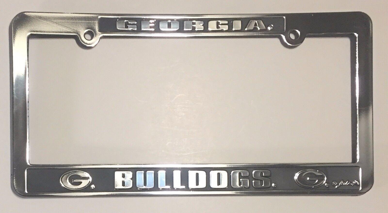 GEORGIA BULLDOGS CAR TRUCK TAG LICENSE PLATE HELMET METAL SIGN UNIVERSITY UGA