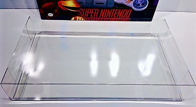 1 Console Box Protector For SNES DONKEY KONG SET   Super Nintendo Display Boxes