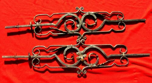 """VINTAGE WROUGHT IRON BALUSTER 45 1/2"""" LONG X 10 1/2"""" WIDE -MORE THEN 1 AVAILABLE"""