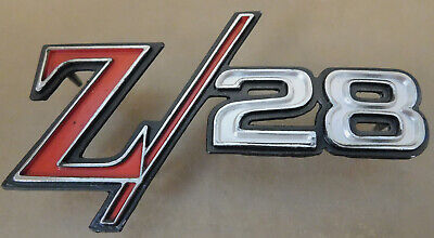 GM 3943255-6 NOS Camaro Z-28 Fender Emblem