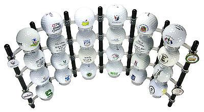 Golf Ball Display Rack Holder Case