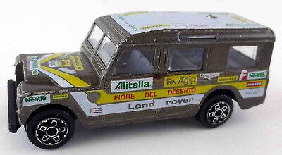 Burago Bburago Land Rover Defender 109 W.B. 1/43 grau 1:43 Rally Carello Agip