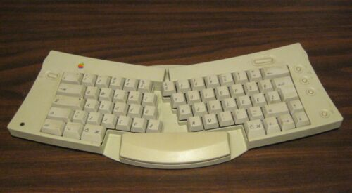 Apple Adjustable Keyboard M1242 ADB TESTED WORKING