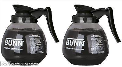 Coffee Pot Decanter Bunn 64oz Commercial Case Of 2 Glass Coffee Pots 42400.0103