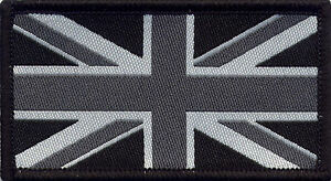Union Jack UK Flag Badge Patch 8cm x 4.5cm