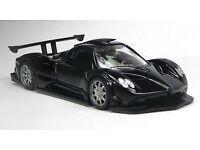 detailgetreues Modellauto 1:24 von MotorMax OVP 轰动 Pagani Zonda C12 weiß