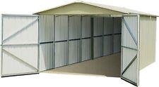 Yardmaster Metal Maintenance Free Garden Garage Shed - 3 x 5m