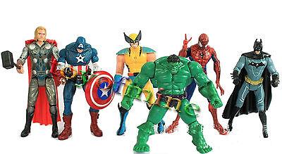 Heroes Hulk Giocattoli Batman Spider-Man Iron Man Capitan America Six Suits