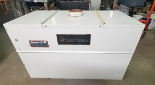 Lochinvar Copper Fin 2 II Gas Boiler Water Heater School used Circulating Tank