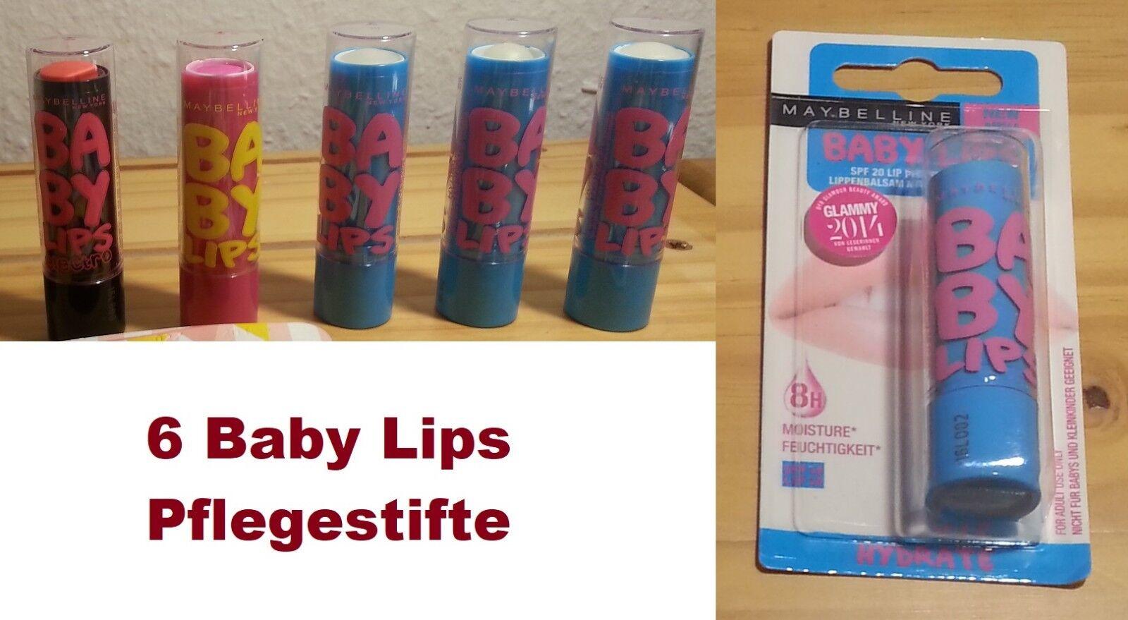 Lippenbalsam Baby Lips Hydrate Electro Pink Punch Set Sammlung Lippenpflege