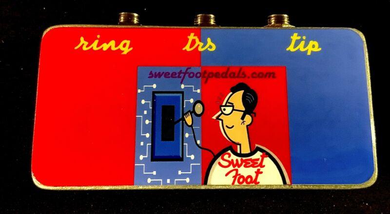 Stereo(TRS) to Dual Mono(TS) Box - HANDMADE IN USA
