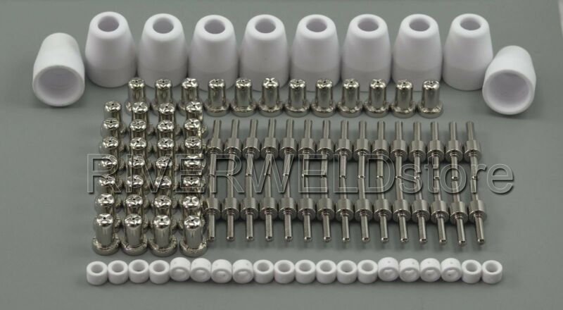 PT-31 LG-40 Plasma Cuter Consumables Extended Nickel-plated CUT-50 CT-312 100pcs