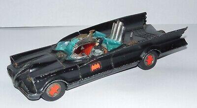 Vintage Corgi Toys 267 BATMOBILE Original Release Logo Wheels w/ Batman
