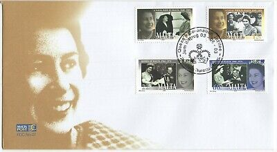MALTA  2003  Queen's Coronation Jubilee  Unaddressed First Day Cover  Ref:3607