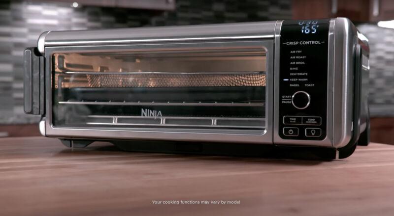 Ninja S100 Foodi 6 in 1 Digital Air Fry Oven, Toaster, Flip-Away Storage