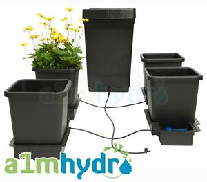 Autopot 4 Pot Grow System Kit Complete With 47 Litre Tank Hydroponics