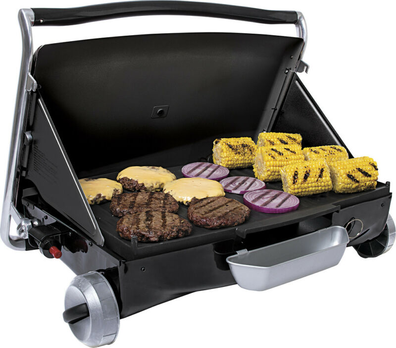 George Foreman Portable Gas Grill Black GP200B