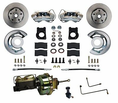 64 65 66 Ford Mustang Power Disc Brake Conversion Kit  for auto trans ALL NEW