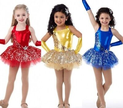 Swing On A Star Dance Costume Tap Lollipop Dress Christmas Color & Size Choice Star Dance Apparel