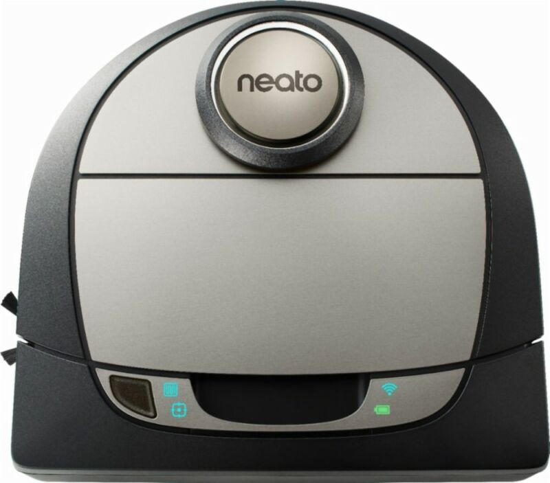 Neato Robotics Botvac D7 Connected App-Controlled Robot Vacuum Black/Gray 945-0270